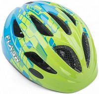 Купить Шлем 8-9090129 Flash Grn/Blu INMOLD детский/подр. СВЕТОД. ФОНАРИК 11отв зелено-синий 47-51см AUTHOR - СКИДКА 10%., И-0052296
