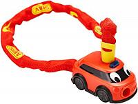 Купить Велозамок ABUS цепь 4мм, ключ, Пожарная машина Fire Department 1510/60см, 280гр, красный - СКИДКА 13%., И-0074898