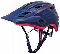 Купить Шлем ENDURO/MTB MAYA2.0 REVOLT Mat Nvy/Red 12отв. 55-61см черно-красный матовый KALI - СКИДКА 14%., И-0060502