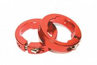 Купить Руч./фиксаторы кольцевые СLR алюминиевый анодированный красные CLARK`S - СКИДКА 9%., И-0018547