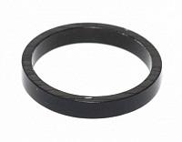Купить Рулевой спейсер 3 (проставочное кольцо) спорт. 1 1/8 алюминиевый 10мм черный AUTHOR., И-0017718