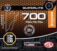 Купить Камера Author Superlite 700х18/25С спорт 8-37270202 - СКИДКА 23%., И-0050578
