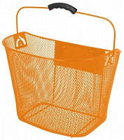 Купить Корзина 5-431717 перед. 35х25х25/22см быстросъемная д/руля 25,4/31,8мм сталь (10) оранж. - СКИДКА 1%., И-0036238