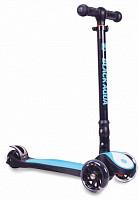 Купить Самокат BLACK AQUA S925C светящиеся колеса - СКИДКА 8%., И-0074438