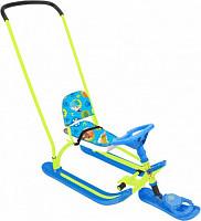 Купить Снегокат Twiny 2 (пушистые звери/лимонный каркас) - СКИДКА 50%., И-0062701