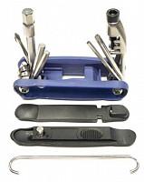 Купить Мультитул VLX-T07 15 позиций, 2/3/4/5/6/8мм +2 отвертки +Torx T25 + выжимка цепи ., И-0071533