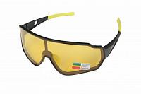 Купить Очки спортивные Klonk 10904 черный/желтый - СКИДКА 31%., ОПТ00003030