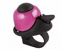 Купить Звонок 5-420148 алюм./пластик мини D=36мм громкий и долгий звук РОЗОВЫЙ M-WAVE - СКИДКА 12%., И-0044479