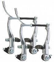 Купить Тормоза V-Brake BLF-A4 102 мм алюминиевые серебристые, комплект на 2 колеса., И-0045942