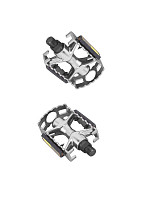 Купить Педали MTB алюминиевые 9/16, 94х62мм серебристые., И-0075479