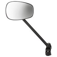 Купить Зеркало M-WAVE на руль, панорамное овальное 105х70мм держат.300мм черное 5-270080., И-0067588