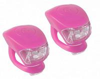 Купить Фонарики 5-220638 COBRA IV перед. 2д/3ф+зад.2д/3ф 24г с батар. розовый корпус (20) M-WAVE - СКИДКА 24%., И-0050269