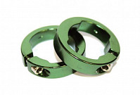 Купить Руч./фиксаторы кольцевые СLR алюминиевый анодированный зеленые CLARK`S - СКИДКА 14%., ОПТ00001667