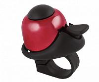 Купить Звонок 5-420143 алюм./пластик мини D=36мм громкий и долгий звук КРАСНЫЙ M-WAVE - СКИДКА 12%., И-0037268