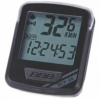 Купить Велокомпьютер BBB NanoBoard 12 functions wired gray черный/серый BCP-26., И-0049828