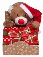 Купить Набор подарочный Happy Toy игрушка Медвежонок 36см., И-0072353