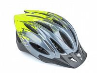 Купить Шлем 8-9001615-16 с сеточкой Wind 174 Grey/Yellow 21отв. 271г. (10) AUTHOR - СКИДКА 17%., И-0055709