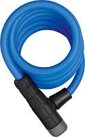 Купить Велозамок тросовый ABUS Primo 5510K/180см SCMU с кроншт, ключ, класс защиты 3/15, 508гр, голубой - СКИДКА 13%., И-0074783
