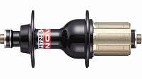 Купить Втулка задняя NOVATEC F172SB-11S, 32H, алюминиевый барабан под SHIMANO 9.10.11S, 4 промподшипника, O.L.D.: 130мм, ось: алюминиевая 10 x 140мм, с эксце., И-0067508