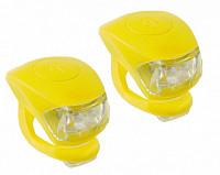 Купить Фонарики 5-220636 COBRA IV перед. 2д/3ф+зад.2д/3ф 24г с батар. желтый корпус (20) M-WAVE - СКИДКА 31%., И-0050268