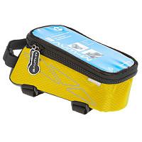 Купить Чехол + бокс M-Wave на раму для смартфона 170х80х80мм влагозащитный черно-желтый 5-122556 - СКИДКА 15%., И-0036396