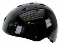 Купить Шлем 5-731282 универс/ВМХ/FREESTYLE 11отв.суперпрочн. 58-61см (10) черный лакир. VENTURA - СКИДКА 24%., И-0017732