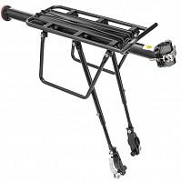 Купить Багажник 20-28 BLF-H27-3 универсальный быстросъёмный Alu Black., И-0049598