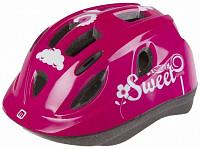 Купить Шлем .детский/подростк. 5-731885 с сеточкой 12отв. INMOLD 52-56см SWEET/розовый (10) MIGHTY JUNIOR - СКИДКА 25%., И-0026918