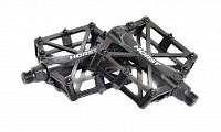 Купить Педали алюминиевый H32 широкие литые с шипами. 92*95*15мм, 388 г черные HORST., И-0043328