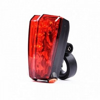 Купить Фонарь задний inca Sport VL 2L-А, 5 диодов, 2 LED габарита, эффект лазерных лучей ., И-0024834