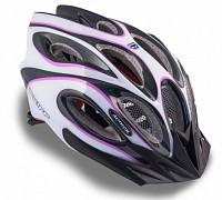 Купить Шлем 8-9001266 спорт. с сеточкой Skiff 144 Prl жен. 14отв. INMOLD фиол.-белый 58-62см (10) AUTHOR - СКИДКА 29%., И-0049951