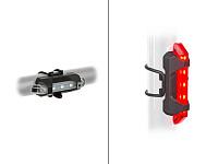 Купить Фара+фонарь 0 Stake Mini USB SET быстросъем. 3ф белый передний красный задний Li-ion AUTHOR - СКИДКА 13%., И-0070622