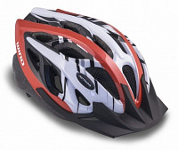 Купить Шлем 8-9001121 с сеточкой Wind 142 Red 21отв. красно-белый 54-58см (10) AUTHOR., И-0020700