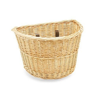 Корзина KIDS WICKER FRONT BASKET