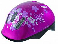 Купить Шлем .детский/подростк. 5-731001 с сеточкой 6отв. 52-56см FLOWER/розовый (10) VENTURA - СКИДКА 13%., И-000003486