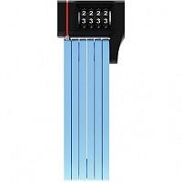 Купить Велозамок ABUS складной, код. 4-х разр,Bordo uGrip 5700C/80см с кроншт,класс защ.7/15,830гр, голубой - СКИДКА 12%., И-0074913