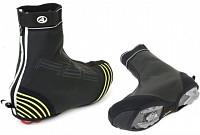 Купить Защита обуви 8-7202070 H2O-PROOF M р-р 40-42 (5) черная с неон. светоотраж. вставками AUTHOR., И-0053132