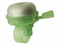 Купить Звонок 00-170711 алюминий/пластик D=50мм серебр.-зеленый - СКИДКА 56%., И-0050158