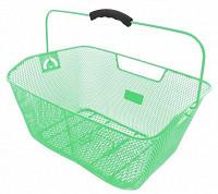 Купить Корзина 5-431615 задняя усил. 41х31х16см сталь на багажник с ручкой зеленая M-WAVE - СКИДКА 7%., И-0037659