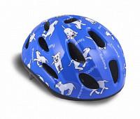 Купить Шлем 8-9090054 с сеточкой Floppy 143 Blu детский 16отв. синий 48-54см (10) AUTHOR - СКИДКА 15%., И-0041854