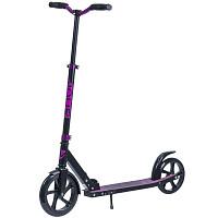 Купить Самокат NOVATRACK Polis 230 Pro фиолетовый., И-0073948