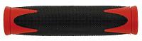 Купить Ручки на руль резин. 2-х компонент. 130мм черно-красные (на блистере) VELO - СКИДКА 18%., И-000006260
