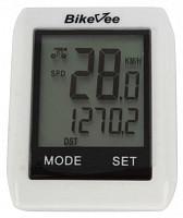 Купить Велокомпьютер BikeVee BKV-6000 беспроводной белый., И-0043765