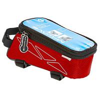 Купить Чехол + бокс M-Wave на раму для смартфона 170х80х80мм влагозащитный черно-красный 5-122553 - СКИДКА 15%., И-0038591