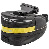 Купить Сумка подседельная M-WAVE, размер L, черно-желтый 5-122486 - СКИДКА 11%., И-0046760