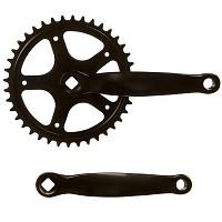 Купить Система шатунов велосипедная ACCURA звезда на 44 зубьев , 152 мм, сталь, черные ST05-ORS100FG., И-0069639