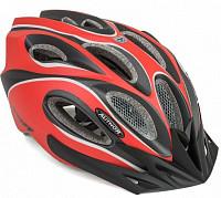 Купить Шлем 8-9001270 спорт. с сеточкой Skiff 172 14отв. INMOLD красно-черный 58-62см (10) AUTHOR., И-0053207