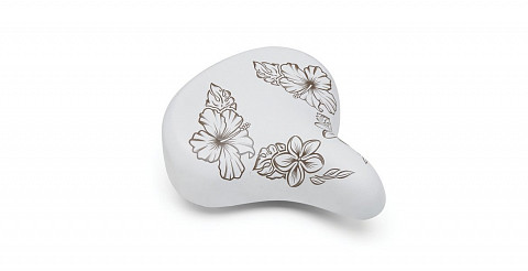 Купить Седло Electra Hawaii Saddle w Elastomers white 598565