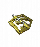 Купить Педали Z PLUS Z-1011, DH/BMX, алюминиевые CNC., И-0067332