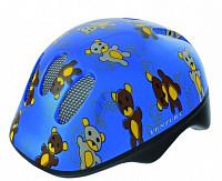 Купить Шлем .детский/подростк. 5-734072 с сеточкой 6отв. 48-52см TEDDY/голубой (10) VENTURA - СКИДКА 13%., И-000009679